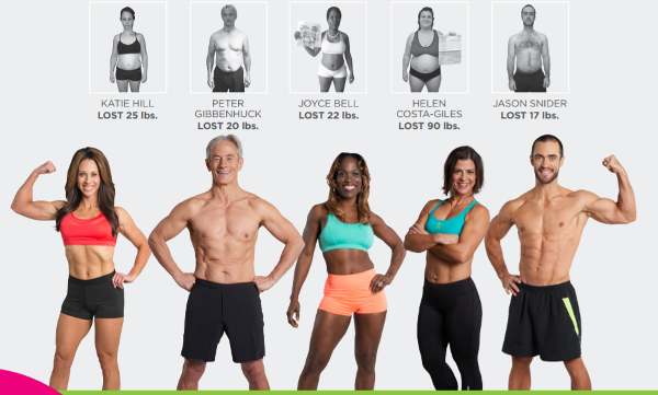 Isagenix body transformation challenge before and after pictures 1