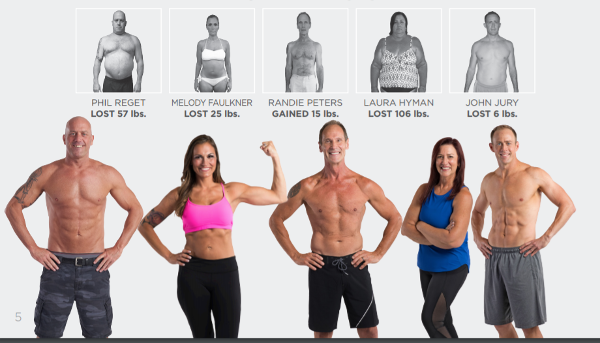 Isagenix body transformation challenge before and after pictures 2