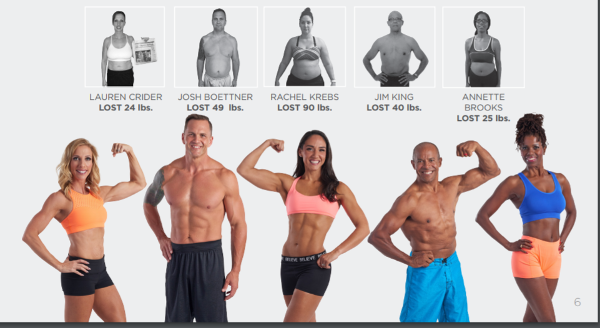 Isagenix body transformation challenge before and after pictures 3