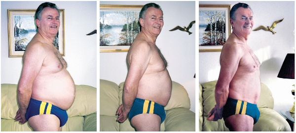 Before and after isagenix cleanse - peter's pictures
