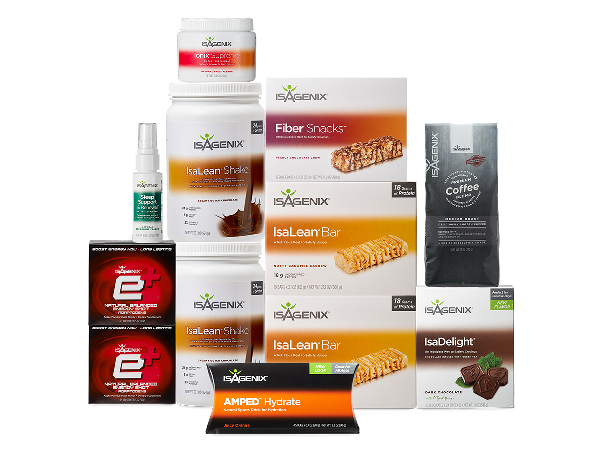 Isagenix Increase Energy System