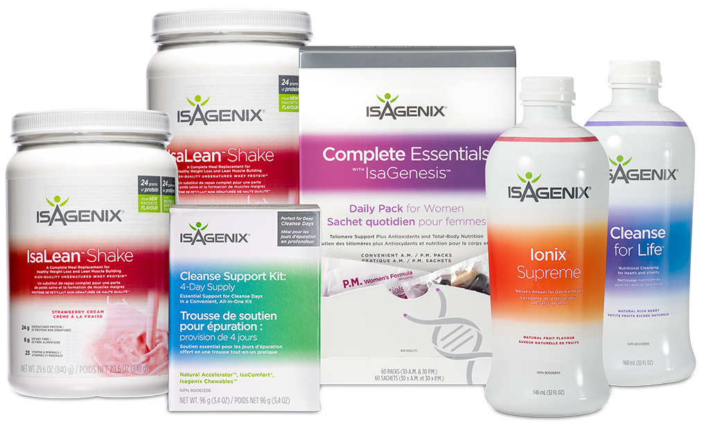 Isagenix Healthy Aging and Telomere Support System