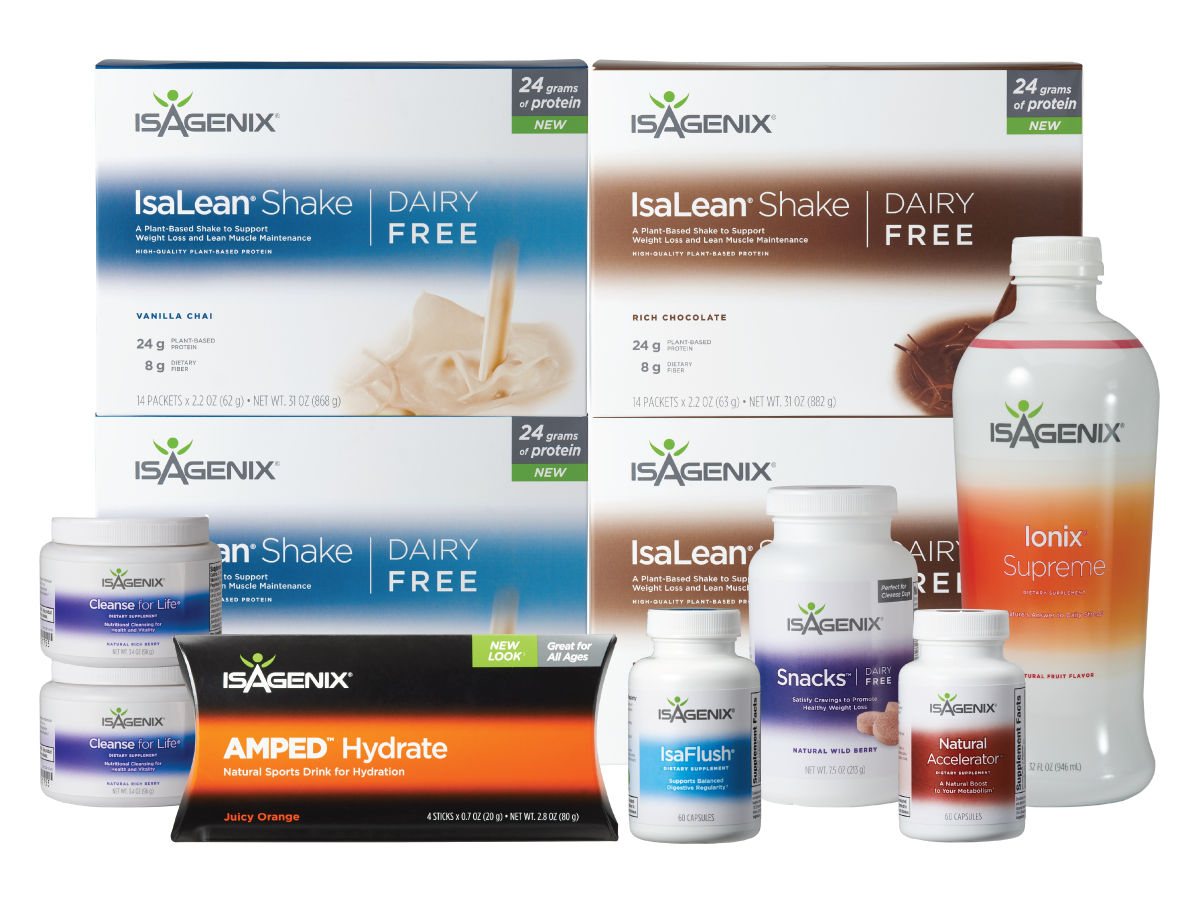 Isagenix 30 Day Program Dairy Free