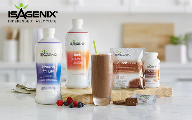 Buy Isagenix Products in the United Kingdom