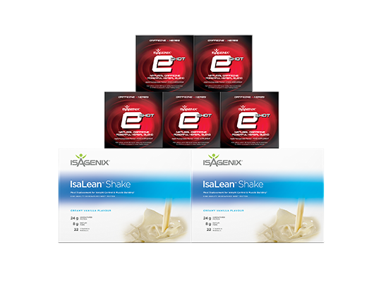 Isagenix Athlete's pack