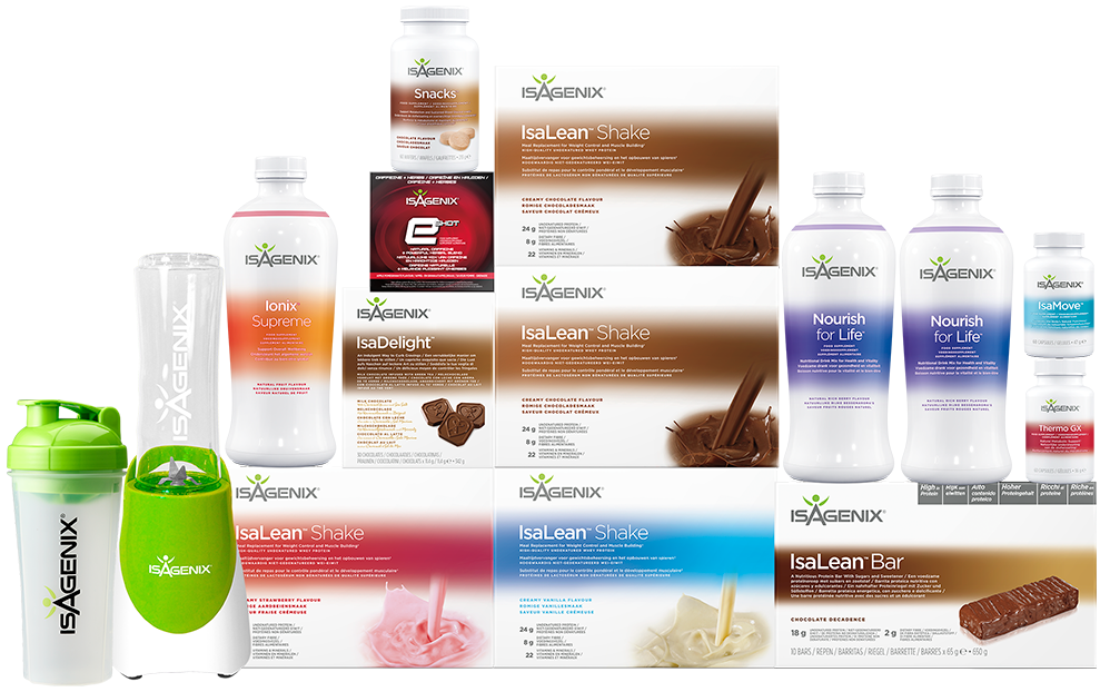 Isagenix Weight Loss Value pack UK