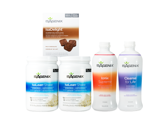 Isagenix Shake and Shot Pak