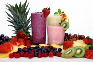 Fruit Smoothies blended in Vitamix 5200 / TNC