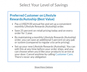 Sign up for Isagenix Preferred Customer Account with Autoship