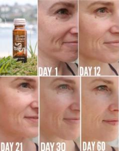 isagenix collagen elixir before and after